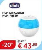 Oferta de Humidificador Chicco por 43.99€