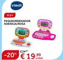 Oferta de Ordenador de juguete Vtech por 19.99€