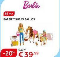 Oferta de Muñecas Barbie por 39.99€