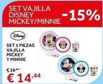 Oferta de Vajilla infantil por 14.44€
