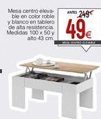 Oferta de Mesa de centro por 49€