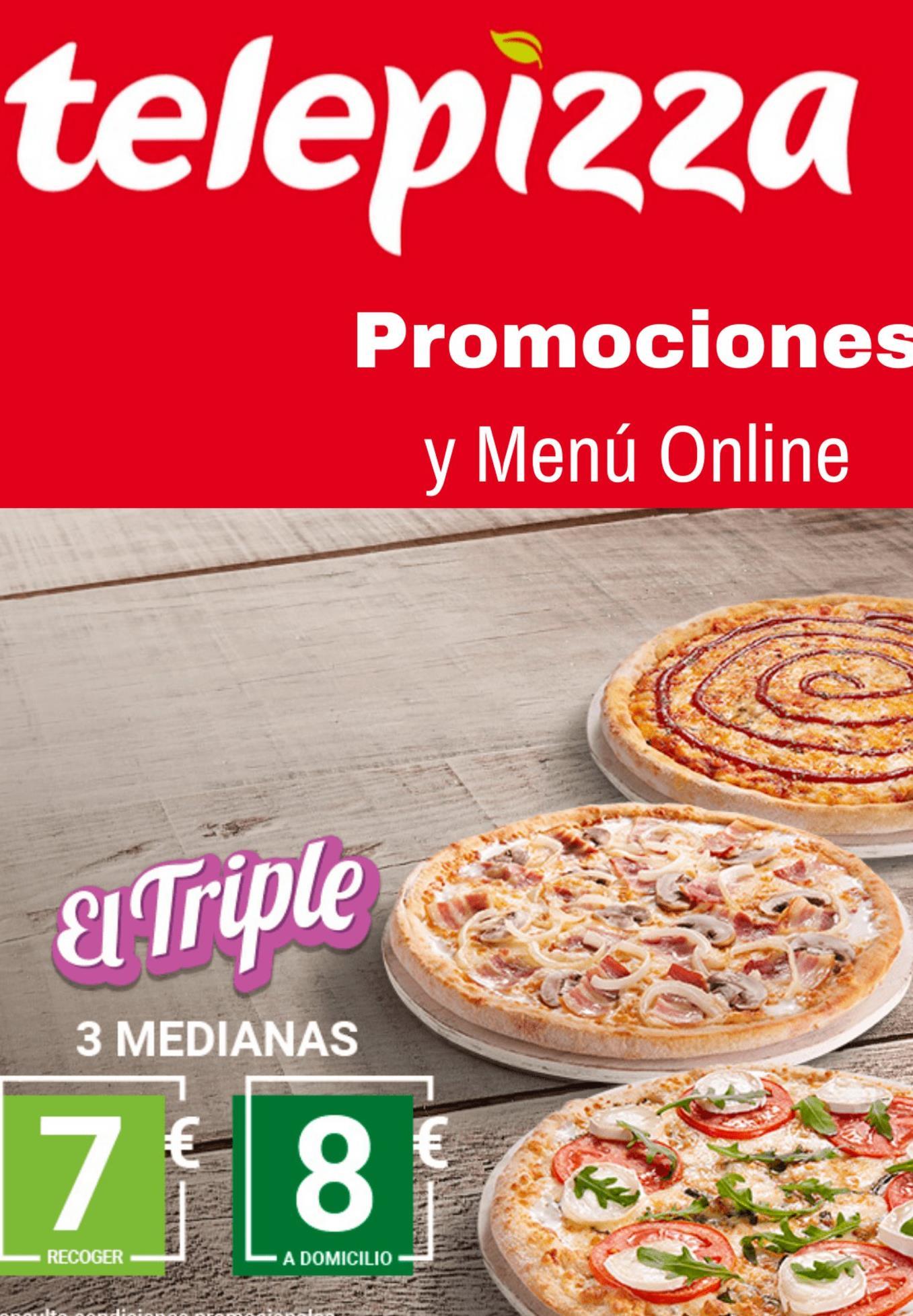 Oferta de Pizza por