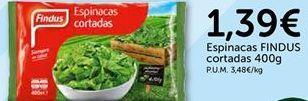 Oferta de Espinacas Findus por 1.39€