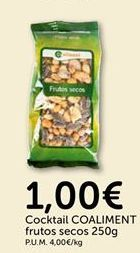 Oferta de Frutos secos coaliment por 1€