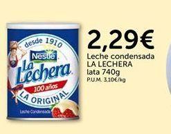 Oferta de Leche condensada La Lechera por 2.29€