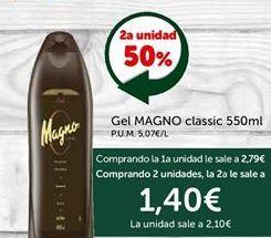 Oferta de Gel de baño Magno por 2.79€
