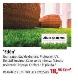 Oferta de Césped artificial por 18,95€