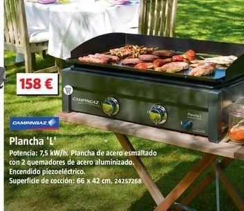 Oferta de Plancha de asar campingaz por 158€
