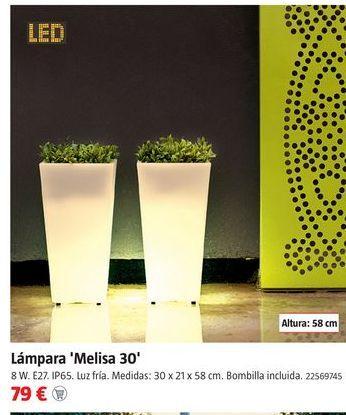 Oferta de Lámpara led por 79€