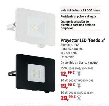 Oferta de Proyector led por 12,99€