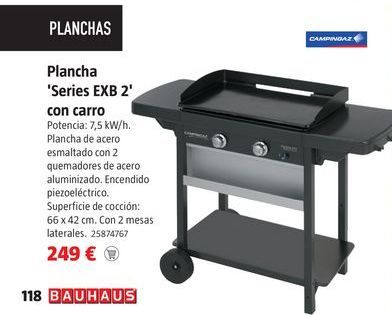 Oferta de Plancha de asar campingaz por 249€
