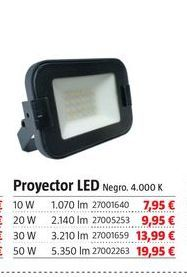 Oferta de Proyector led por 7,95€