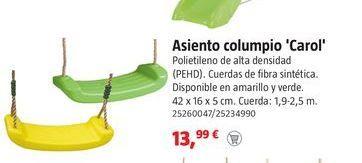Oferta de Columpio por 13.99€