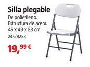 Oferta de Silla plegable por 19.99€