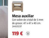 Oferta de Mesa auxiliar por 119€