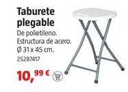 Oferta de Taburete plegable por 10.99€