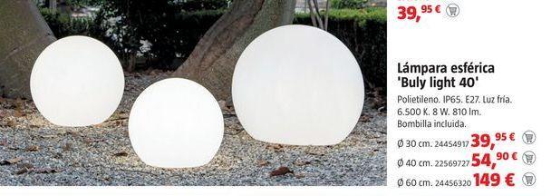 Oferta de Lámparas por 39,95€