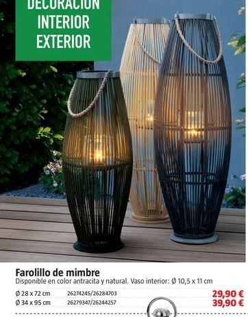 Oferta de Farolillo por 29.9€