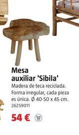 Oferta de Mesa auxiliar por 54€