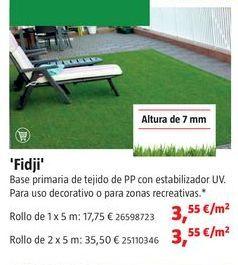 Oferta de Césped artificial por 3,55€