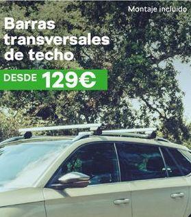 Oferta de Barras transversales de techo por 129€
