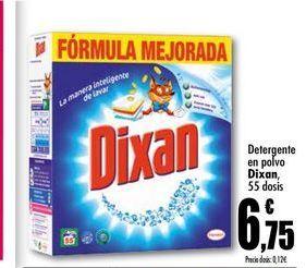 Oferta de Detergente en polvo Dixan por 6.75€