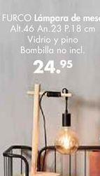 Oferta de Lámpara de mesa por 24,95€