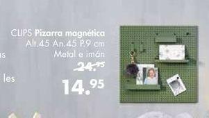 Oferta de Pizarra magnética por 14,95€