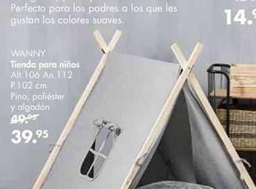Oferta de Tienda infantil por 39,95€