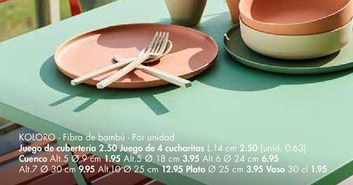 Oferta de Cubertería por 2,5€
