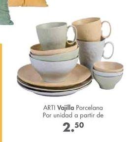 Oferta de Vajilla por 2,5€
