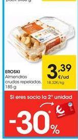 Oferta de Almendras eroski por 3.39€