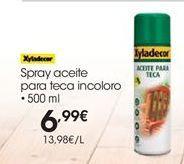 Oferta de Aceite de teca Xyladecor por 6.99€