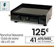Oferta de Plancha Navarra por 125€
