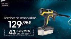 Oferta de Kärcher de mano por 129,95€