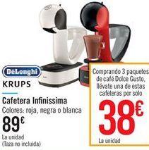 Cafetera Infinissima