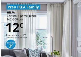Oferta de Cortinas por 12€