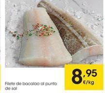 Oferta de Filetes de bacalao por 8.95€