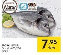 Oferta de Dorada eroski natur por 7.95€
