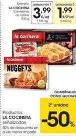 Oferta de Canelones La Cocinera por 3.99€