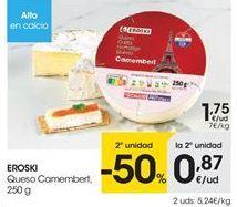Oferta de Camembert eroski por 1.75€