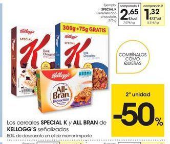 Oferta de Cereales de chocolate Special K por 2,65€