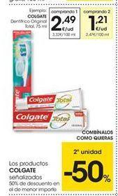Oferta de Dentífrico Colgate por 2.49€