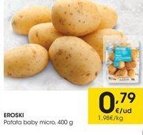 Oferta de Patatas eroski por 0.79€