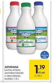 Oferta de Leche Asturiana por 1.19€