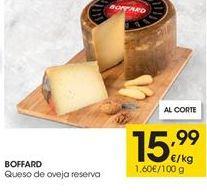 Oferta de Queso de oveja Boffard por 15,99€