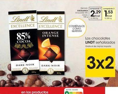 Oferta de Chocolate Excellence por 2.29€