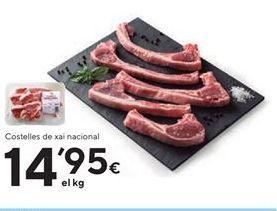 Oferta de Chuletas de cordero por 14.95€