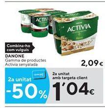 Oferta de Yogur Activia por 2.09€