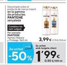 Oferta de Champú Pantene por 3,99€